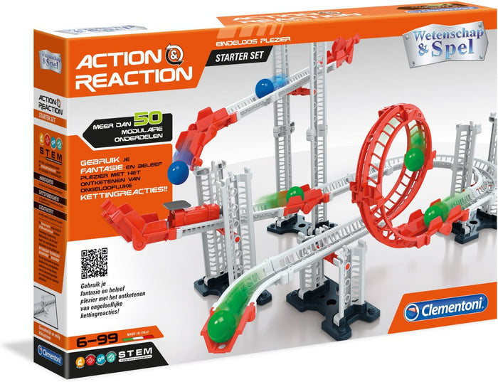 Clementoni Action & Reaction Starter Set Science & Play