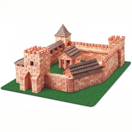 Mini Bricks Red Castle - Wise Elk