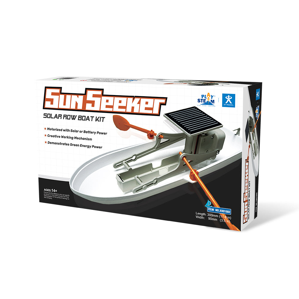 Playsteam SunSeeker Solar Rowboat Kit