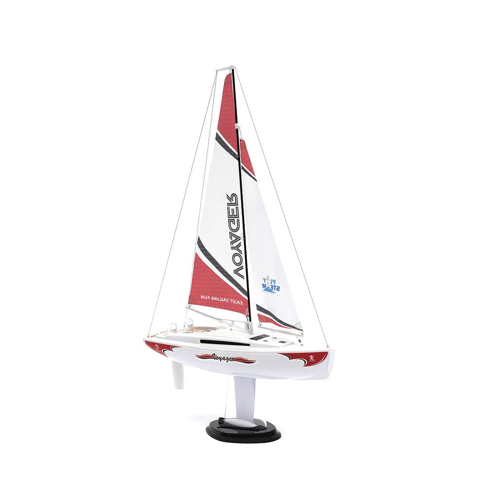 Playsteam Voyager 280 2.4G Sailboat-Red
