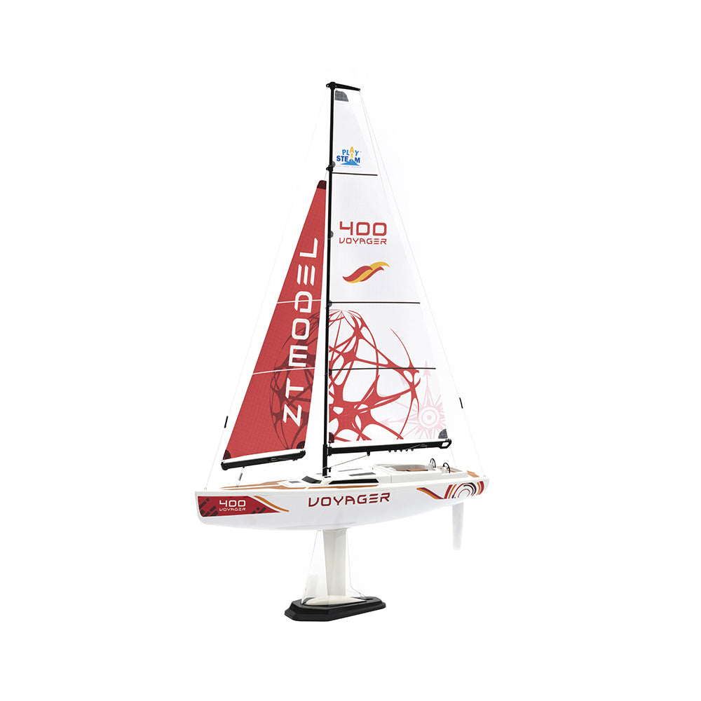 Playsteam Voyager 400 2.4G Sailboat-Red