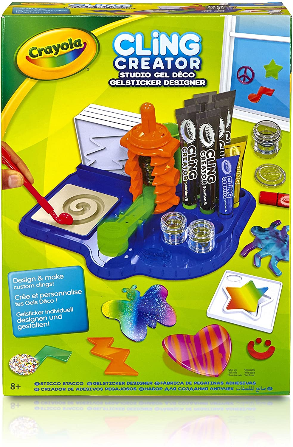 Crayola Cling Creator Activity Set