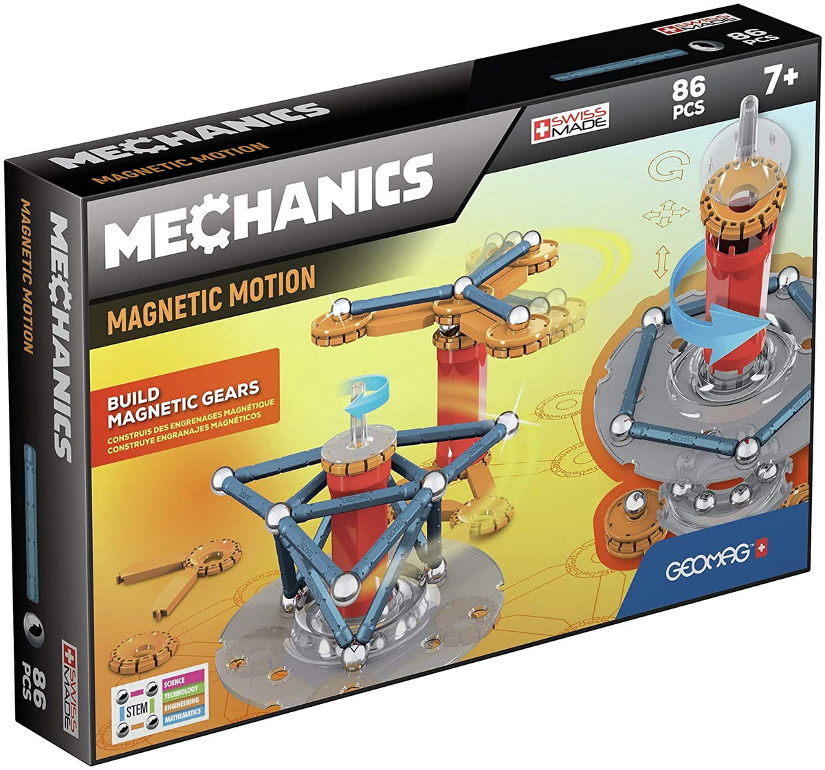 Geomag Mechanics Motions 86 Pcs Set