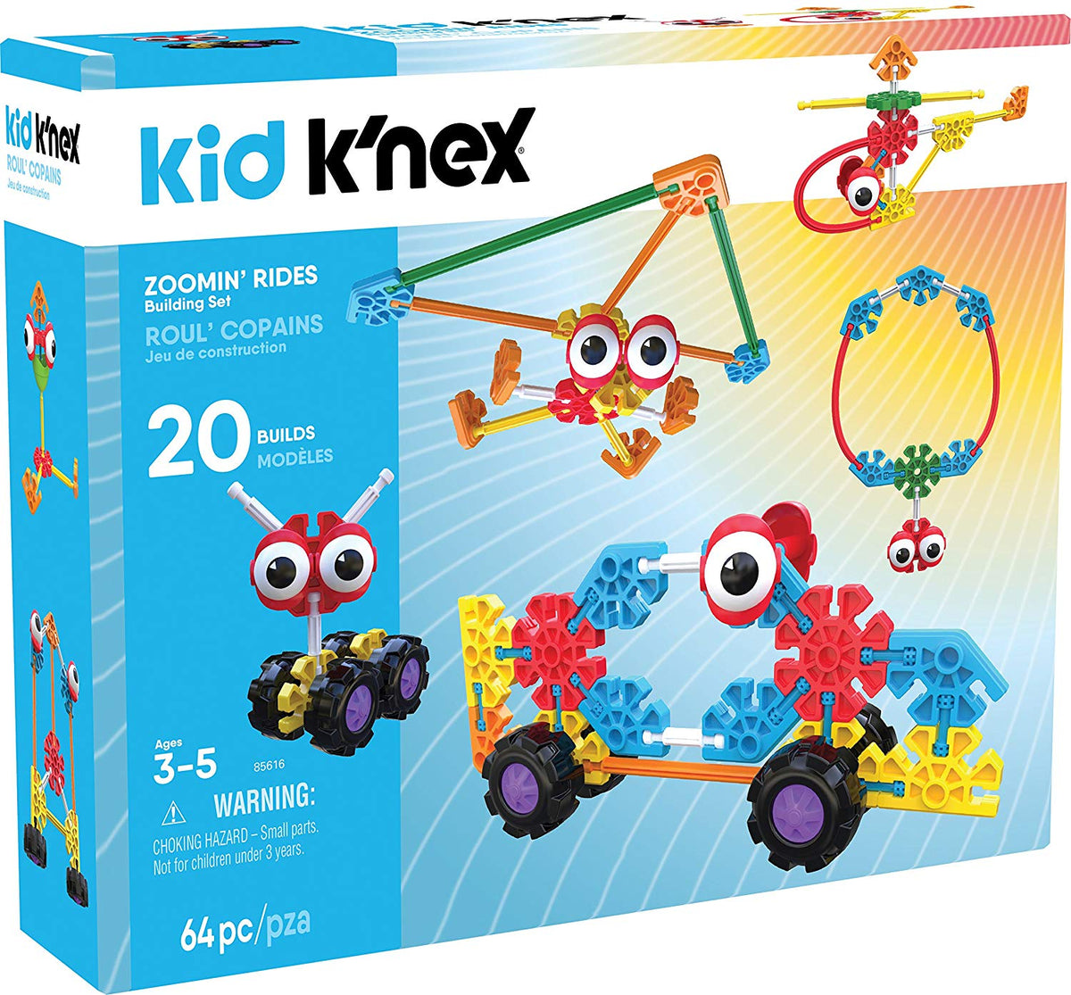 Knex Kids Zoomin Rides Building set