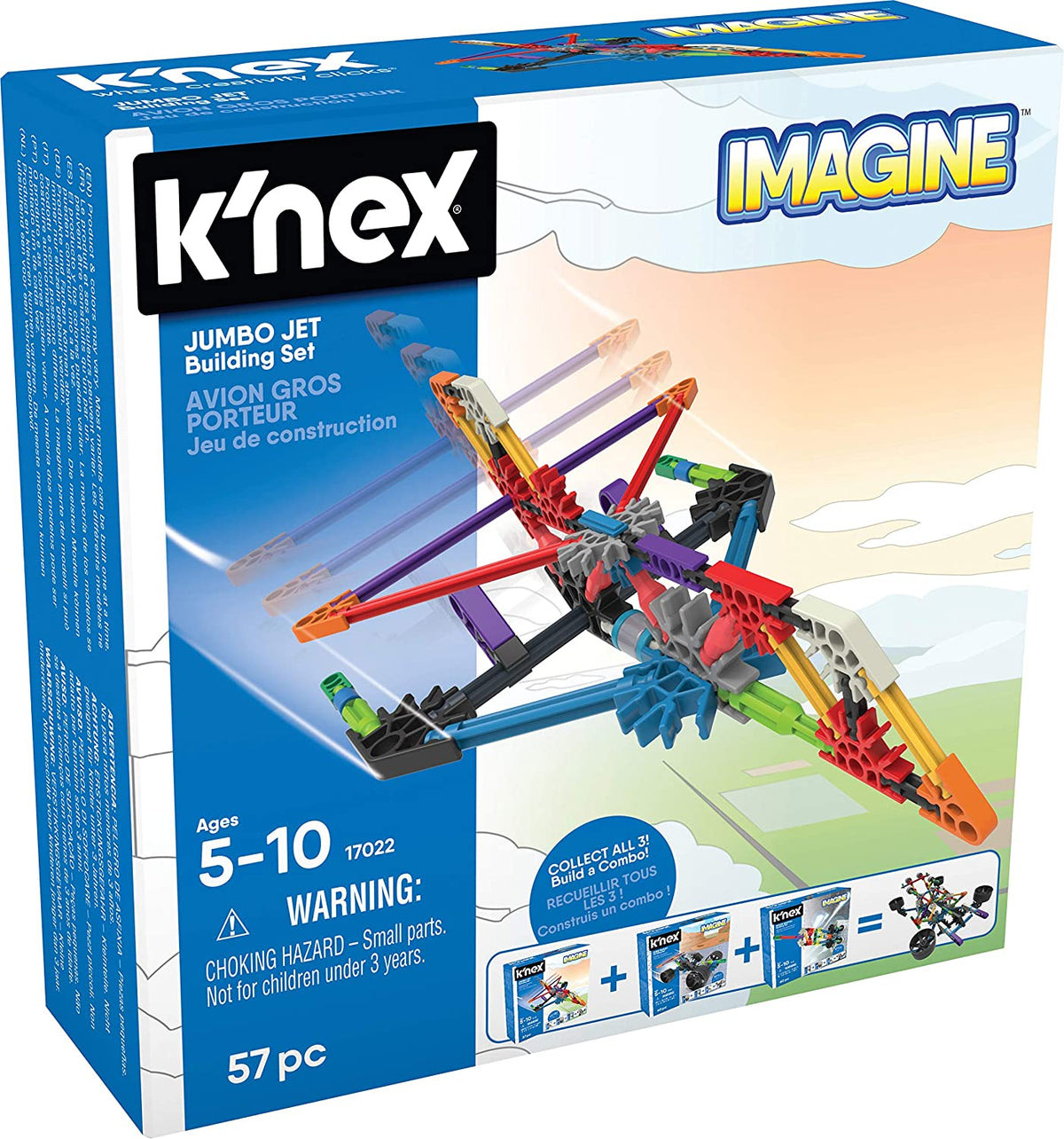 Knex  Imagine Jumbo Jet Set