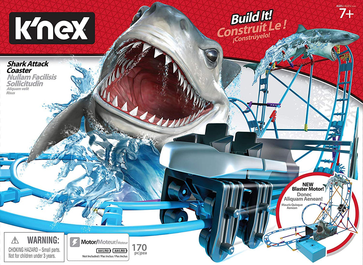 Knex Thrill Rides Shark Attack Roller Coster
