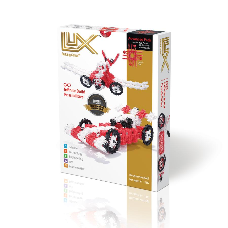 Lux Blox Advanced Car Airplane 2-in-1 120 Pc