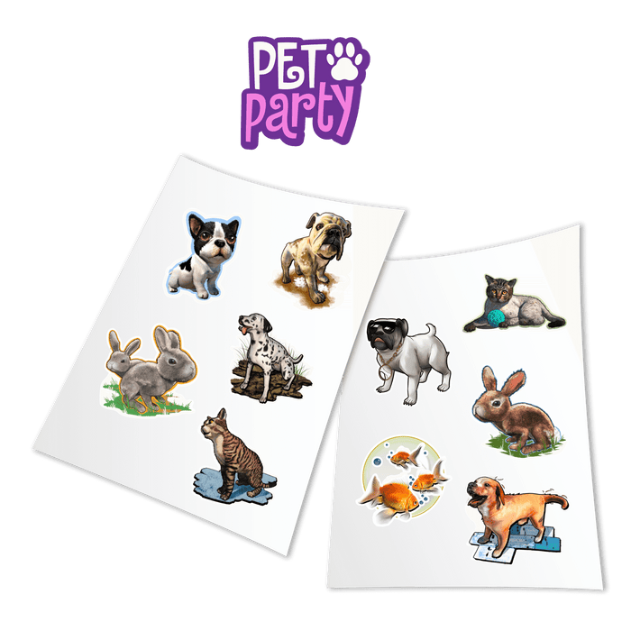 Holotoyz Peelable Stickers Pet Party