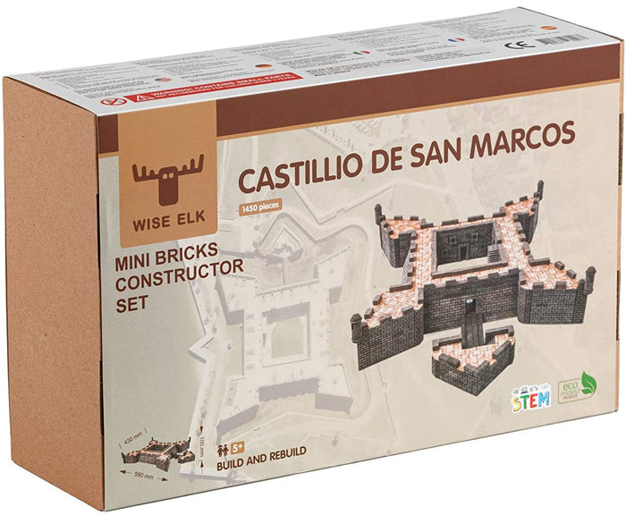 Wise Elk Mini Bricks Castillio De San Marco Constructor Set