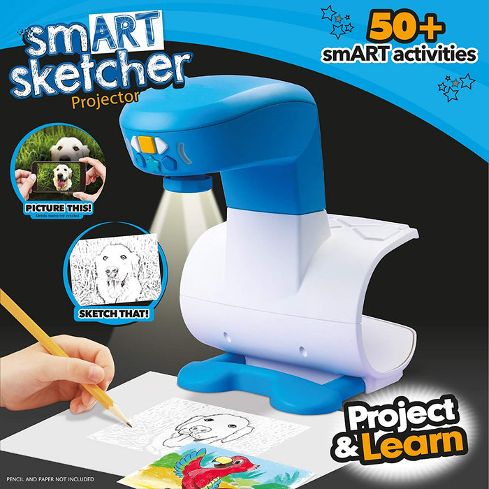 Smart Sketcher Projector With SD card AC Adapter