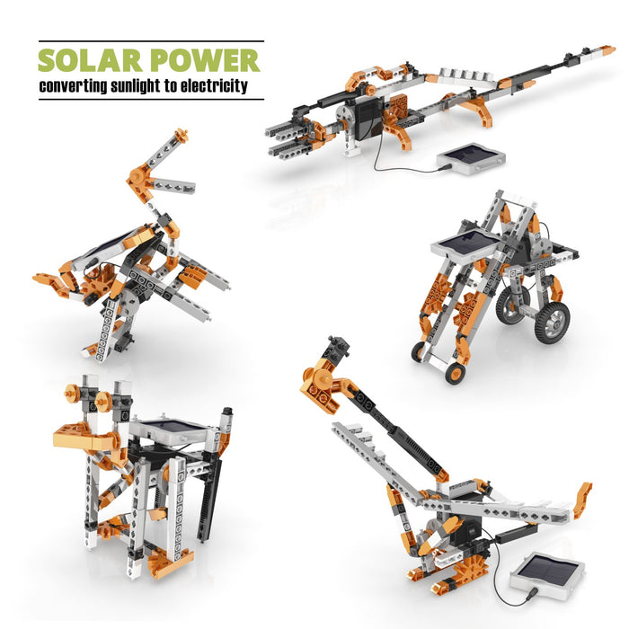 Engino Stem Solar Power Set Build 16 Models