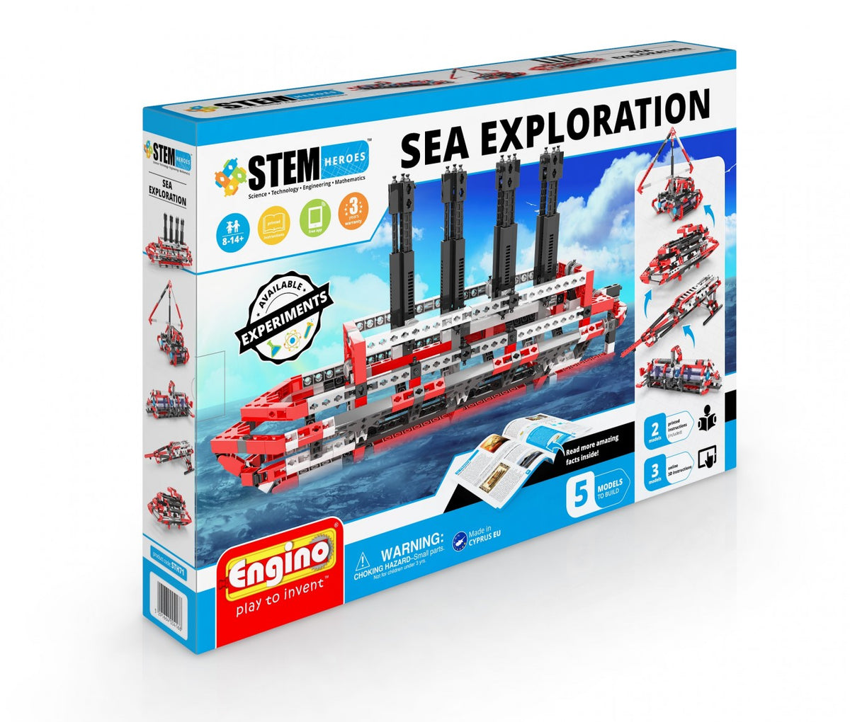 Engino Sea Exploration Stem
