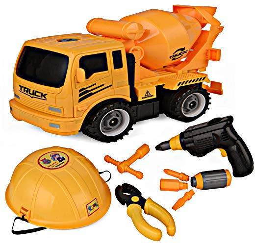 ToyVs - Build Your Own Construction Toy with Lots of Tools