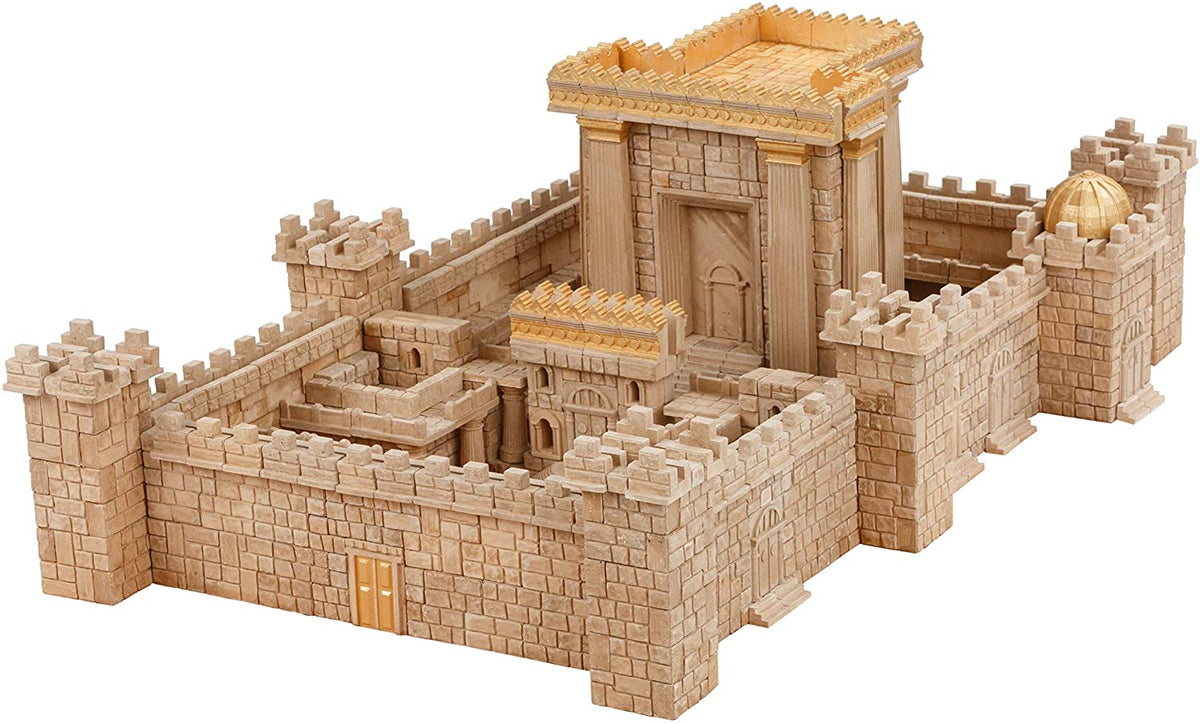 Wise Elk Mini Bricks Temple in Jerusalem Construction Set