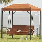 Home Depot Palm Canyon 08-SOB-GSW Patio Swing Products