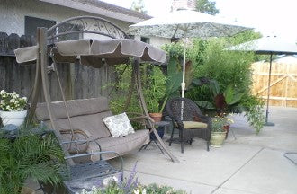 Costco Style AB-1 Model 410535 Patio Swing Products | Swing Cushions USA