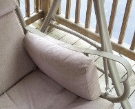 Sunbrella® Bolster Patio Swing Pillow