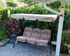 Courtyard Creations RUS4173-G01 Patio Swing Products | Swing Cushions USA