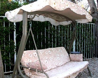 Courtyard Creations RUS408-2003 Patio Swing Products | Swing Cushions USA