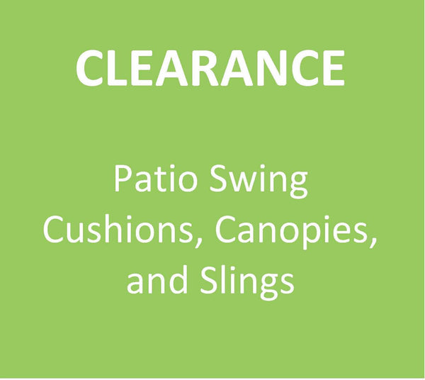 Patio Swing Clearance canopies, cushions, pillows, and slings | Swing Cushion Covers
