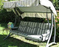 Fortunoff RUS4588-2007 Patio Swing Products | Swing Cushions USA