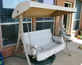 Hampton Bay 2 Person Model S02239 Patio Swing Products | Swing Cushions USA