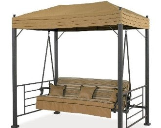 Home Depot / Hampton Bay Models: Sonoma 08-SON-GSW Patio Swing Products | Swing Cushions USA
