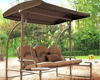 Home Trends North Hills RUS453W Patio Swing Products | Swing Cushions USA