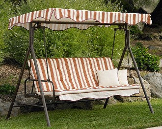 Home Trends Park Lake Patio Swing Products