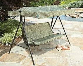 Kmart and Sears Jaclyn Smith Cora Model Patio Swing Products | Swing Cushions USA