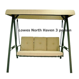 Lowe's North Haven Patio Swing Products | Swing Cushion Covers