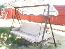 Lowes Garden Treasures 3 Person Patio Swing Products