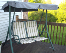 Courtyard Creations Model RUS4860 Patio Swing Products