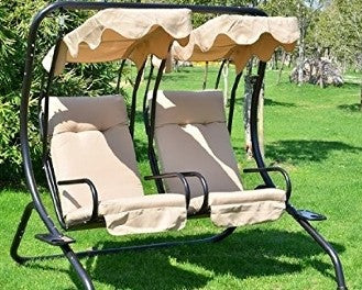 Outsunny 2 Person Chair Patio Swing Products | Swing Cushions USA