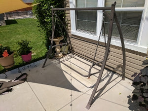 Courtyard Creations RUS422W-WM Patio Swing Products