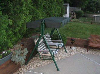 Two Seat Model S02091-3 Patio Swing Products | Swing Cushions USA
