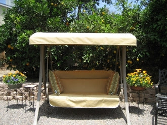 Home Depot / Hampton Bay Charm 2 Person S05293 Patio Swing Products | Swing Cushions USA
