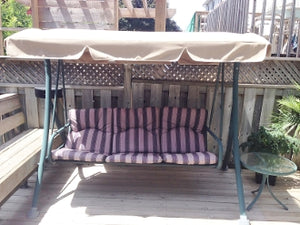 Sears Canada Three Person Compex Ltd Patio Swing Products | Swing Cushions USA