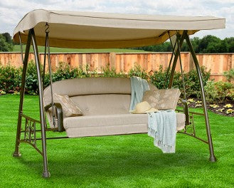 Sears Garden Oasis 3 Person Patio Swing Products Swing Cushions Usa