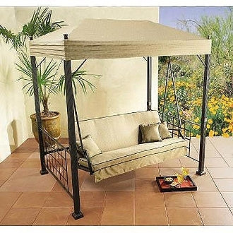 Home Depot / Hampton Bay Models: Sonoma 08-SON-GSW Patio Swing Products | Swing Cushion Covers