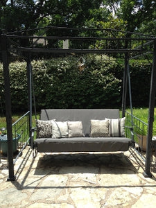Home Depot / Hampton Bay Models: Sonoma 08-SON-GSW Patio Swing Products