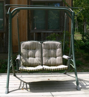 Two Person Chair Style Model S03204 Patio Swing Products Swing Cushi