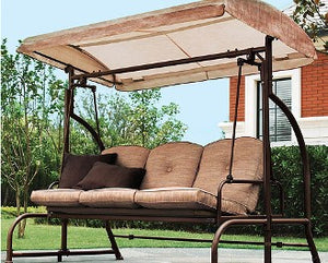 Walmart Home Trends Sand Dune RUS453A Patio Swing Products | Swing Cushions USA