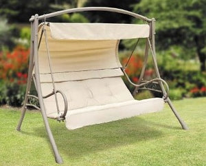 Walmart Model Suntime Seville Three Person Cushion Patio Swing Products