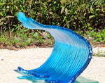 Massive Waves - Goodwin Glassworks Hunter Glass  Glass Wave Art