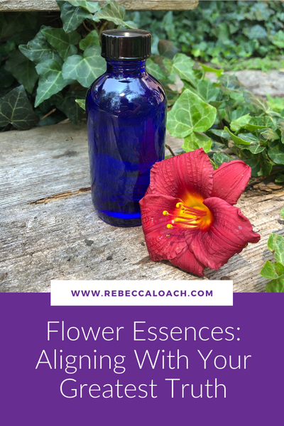 Flower Essences: Aligning With Your Greatest Truth