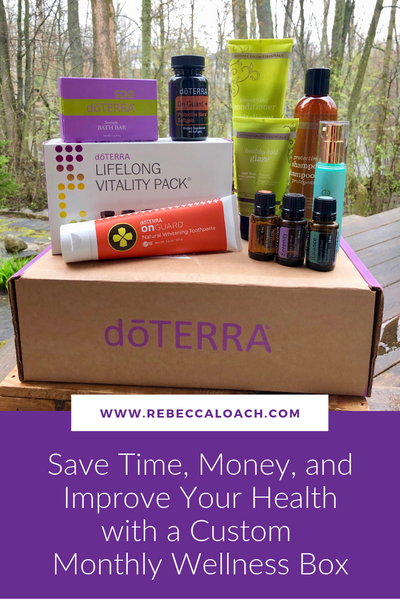 Save Time, Money, and Improve Health with a Custom Monthly Wellness Box