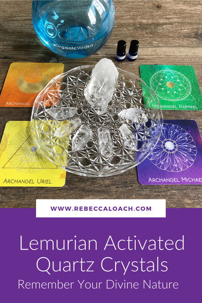 Each Lemurian Activated Quartz Crystal carries a unique frequency that will help you realize the potential within you and remember your strength, courage, and power. It will act as a channel to bring you back to your most enlightened self.