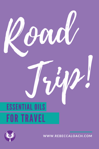 The best essential oils for family road trips or travel. Learn how to stay healthy and happy while on a family vacation.