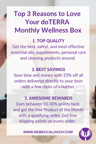 Save time, money, and improve health and happiness with a custom Wellness Box